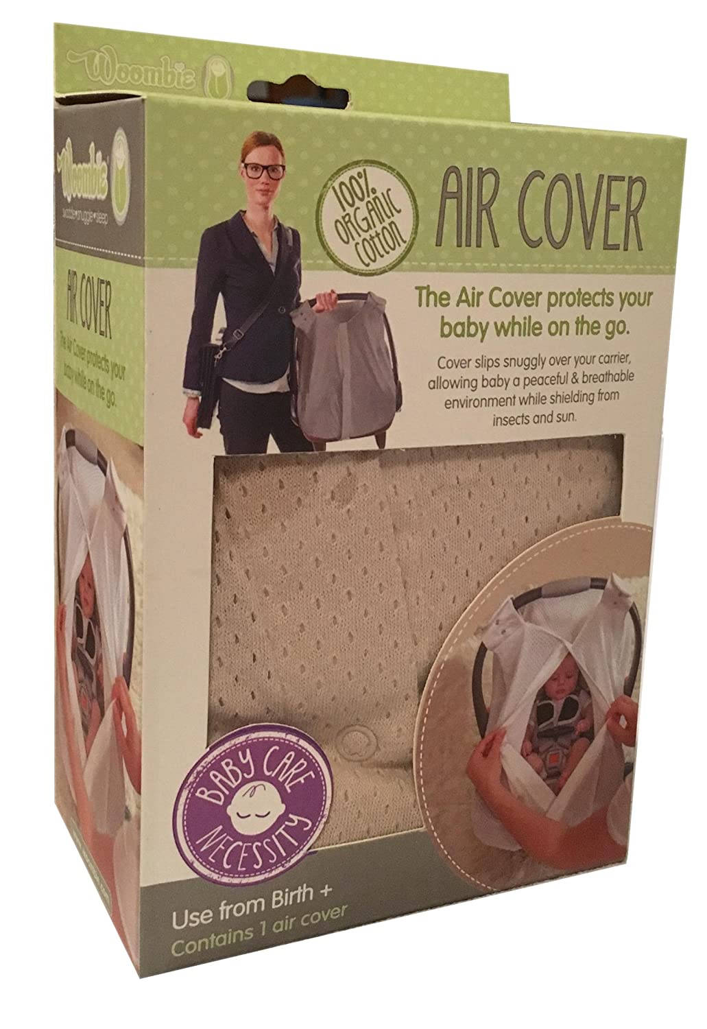 Woombie Organic Air Cover, Pink