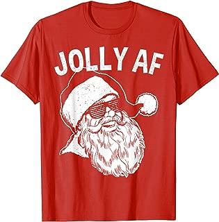 Funny Santa Shirt | Jolly AF T-Shirt