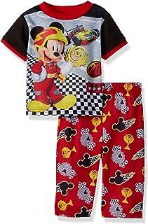Disney Mickey Mouse - Conjunto de Pijama de Forro Polar para niño (2 Piezas)