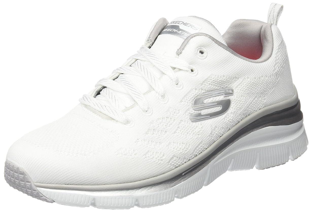 シミュレートする凝視の慈悲で[マケッチャーズ] Skechers - Fashion Fit Style Chic [並行輸入品] - 12703WHT - Size: 27.0