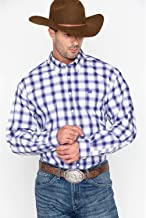 Cinch Men's Match Dad Plaid Long Sleeve Button Down Shirt - Mtw1104713