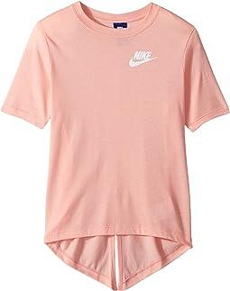 Nike Kids - Sportswear Split Short Sleeve Top (Little Kids/Big Kids)