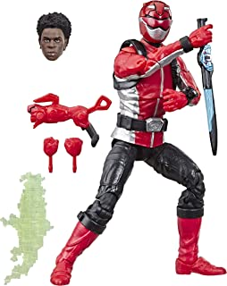 """Hasbro E5933AS00 Power Rangers Lightning Collection 6"""" Beast Morphers Red Ranger Collectible Action Figure Toy with Access..."""