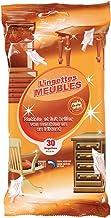 CLEAN HOUSE 30 Lingettes nettoyantes pour Meubles