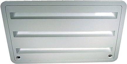 Dometic 3109350.011 Refrigerator Vent - Lower Sidewall Vent, Polar White