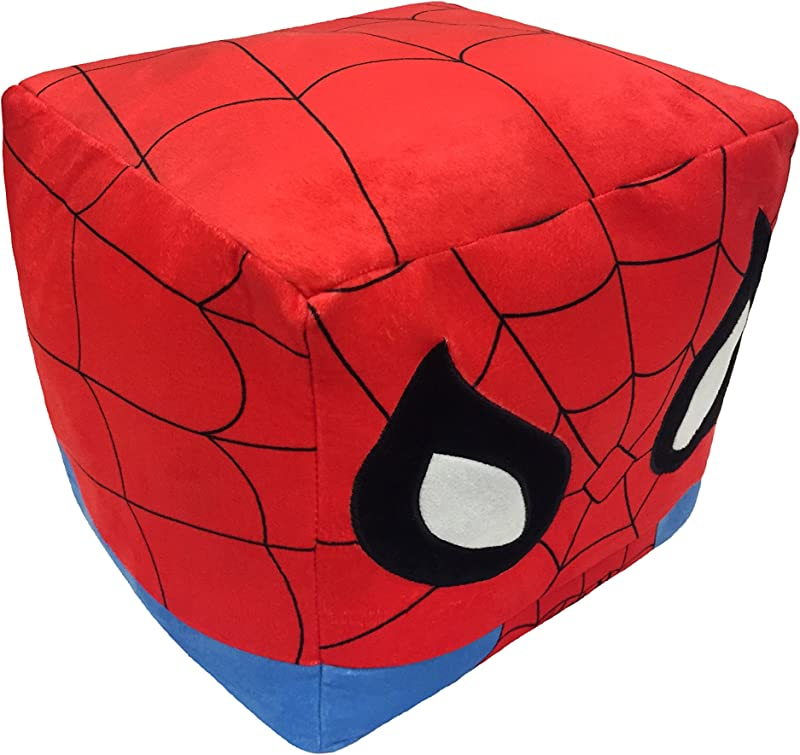Spiderman 12 X12 Cube Pillow Kid S Bedding Kids Body Pillow