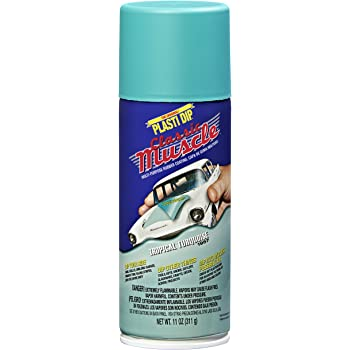 Performix 11306 Tropical Turquoise Classic Muscle Car Rubber Coating, 11 oz