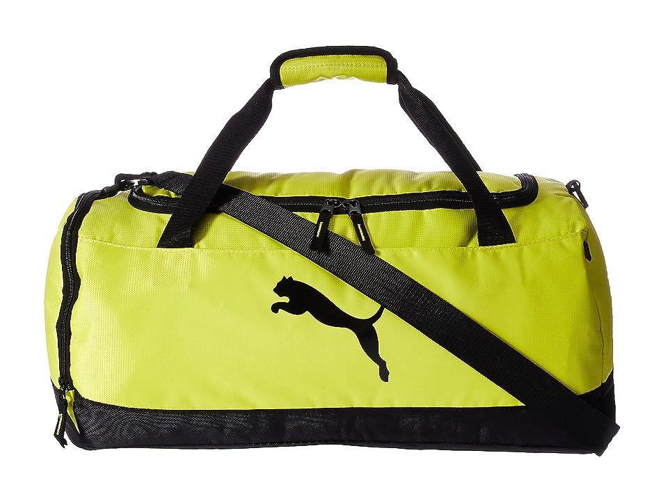 7ef759a3aab8 PUMA Evercat Runway Duffel (Yellow) Duffel Bags