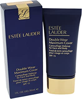 Estee Lauder Double Wear Maximum Cover Camouflage Makeup SPF 15 - 2W2 Rattan for Women - 1 oz