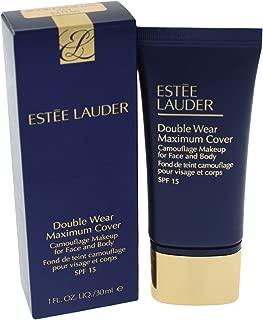 Estee Lauder Double Wear Maximum Cover Camouflage Makeup SPF 15-2W2 Rattan for Women - 1 oz