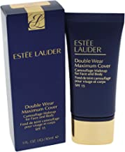 Estee Lauder Double Wear Maximum Cover Camouflage Makeup 2W2 Rattan SPF15 30ml, 28.3 Grams
