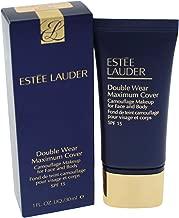 Estee Lauder Double Wear Maximum SPF 15 Cover Camouflage Makeup, Rattan, 1 Ounce