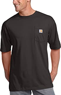 Carhartt Men's Big and Tall Big & Tall K87 Workwear Pocket Short Sleeve T Shirt