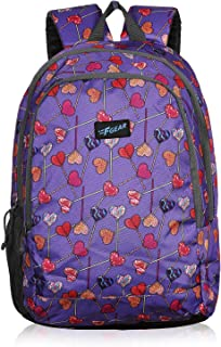 F Gear Castle Hearts Violet 22 Ltrs Casual Backpack (3348)
