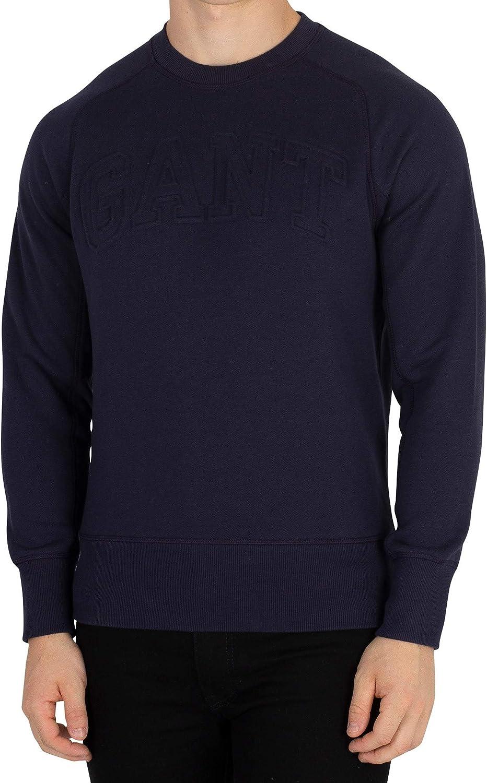 GANT Herren Mobiles Sweatshirt, Blau
