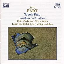 Pärt: Tabula Rasa & Symphony No. 3