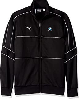Motorsport Men's BMW T7 Track Jacket , Large, PUMA Black