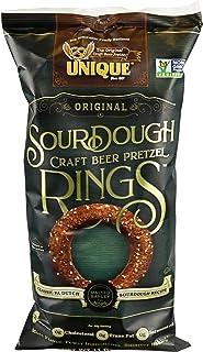 Unique Pretzel, Sourdough Craft Beer Pretzel Rings, 11 Ounce