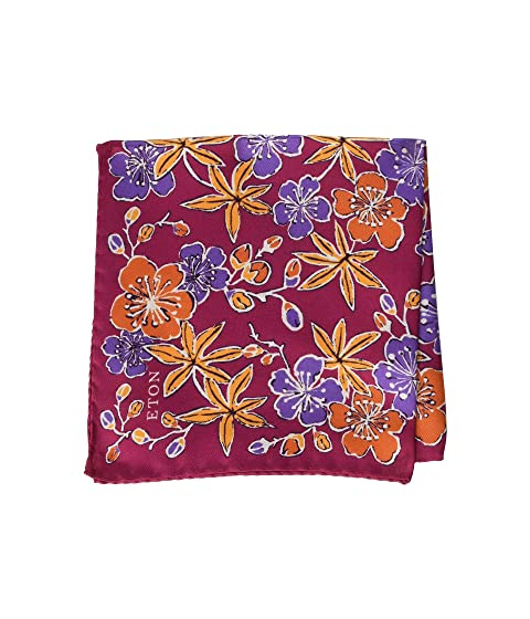 Eton Floral Print Pocket Square