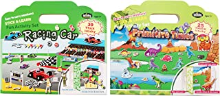 Educational Magic Sticker for Kids,Toddlers,Reusable and Washable Game Sticker Books,Game Play Storytelling Sticker Books(...