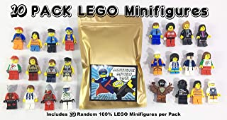 Pack of 10 Random Authentic Lego Figures (9443)