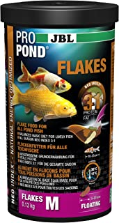 JBL Forro para todos los copos de peces para estanque, forro nadando, función Forro, propond Flakes