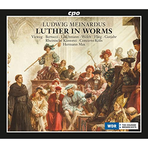 luther in worms op 36 act ii before the emperor and the empire