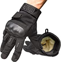 TAC9ER Kevlar Lined Tactical Gloves – Full Hand Protection, Cut and Temperature..