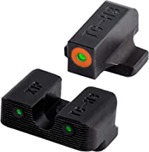 TRUGLO Tritium Pro Glow-in-The-Dark Handgun Night Sights for Springfield XD Series, Orange Rear