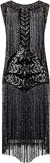 Women's Flapper Dresses 1920s Gatsby Full Fringed Vintage Cocktail Dress