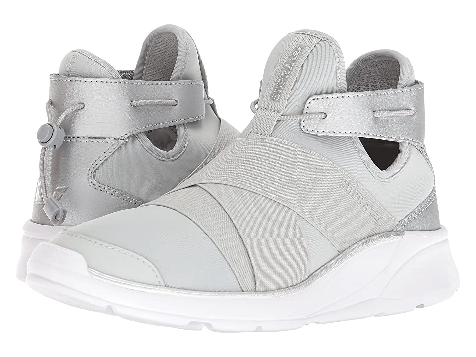 Supra Anevay (Cool Grey/Silver/White) Women