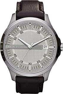 Armani Exchange Hampton Stainless Steel Watch