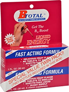 Sublingual Products B-Total Twin Pack - 2 fl oz (Pack of 4)