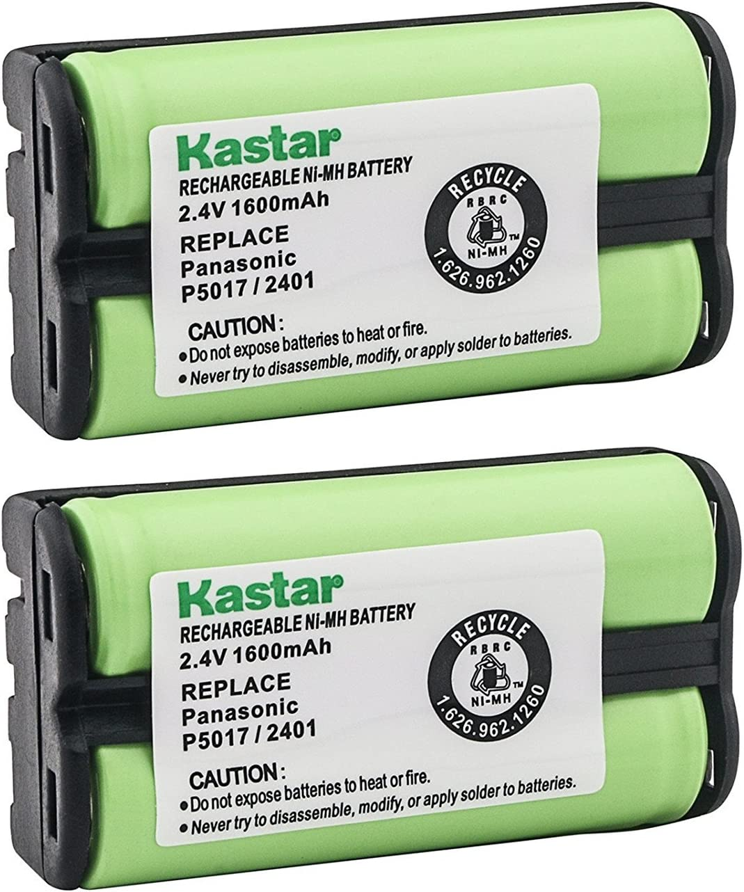 Ranking TOP5 Kastar Cordless Al sold out. Battery 2 Pack 2.4V Replacemen 1600mAh Ni-MH