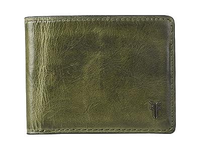 Frye Austin Slim ID Bifold (Pine) Handbags