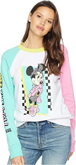 Mickey's 90th Hyper Minnie Crew Fleece