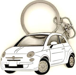 Porte clé auto neuf en métal style FIAT