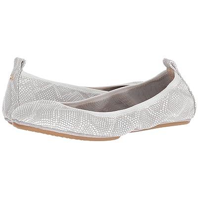Yosi Samra Embossed Snake Leather (White) Women