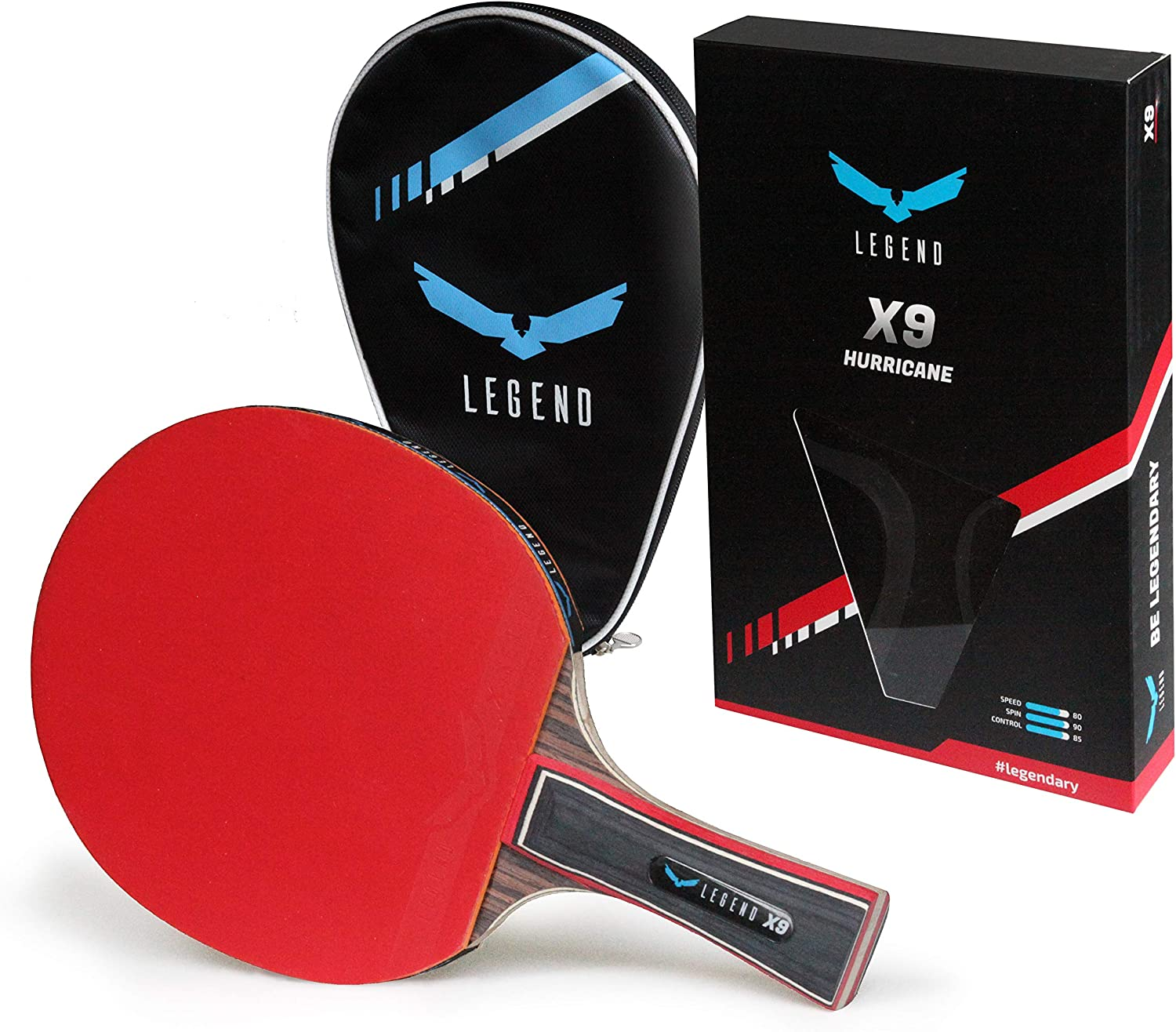 Legend Professional OFFicial mail order Table Tennis Paddle Ping - Rare Racket with Pong