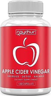 Apple Cider Vinegar Capsules - Detox Cleanse Diet Pills That Work Fast For Women Men - Support Weight Management Metabolis...