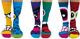 United Oddsocks - Calcetines térmicos para hombres 6 - Modelo: The Stress Heads, colorido, Talla: 39-46