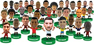 SoccerStarz Action Stampers Set of 36 – Best Soccer Stars in The World Featuring Neymar, Messi, Ronaldo, and All Your Other Favorite Soccer Players from The 2018 Football Mundial