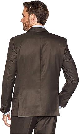 Slim Fit Finished Bottom Suit