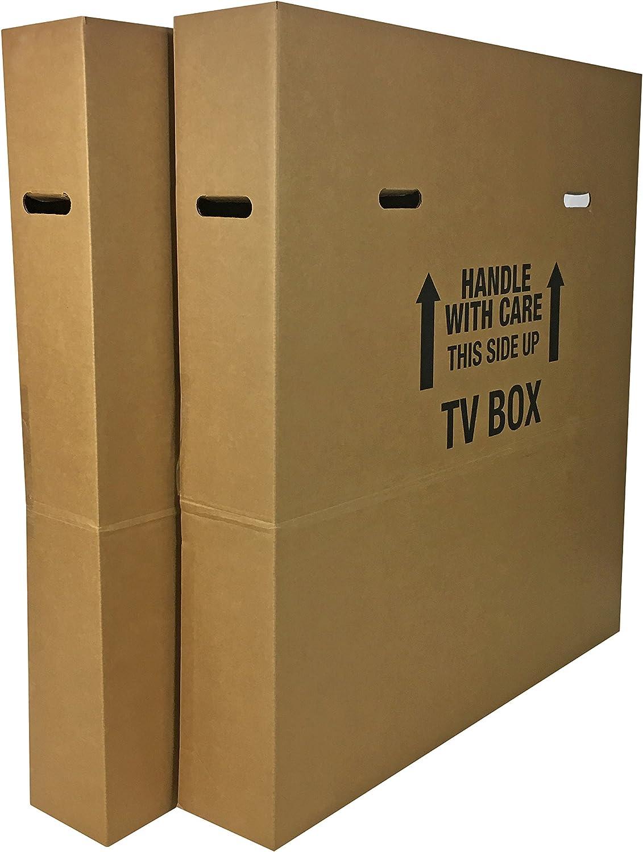 即出荷 uBoxes TV Moving Box 送料無料 激安 お買い得 キ゛フト - Pack 2