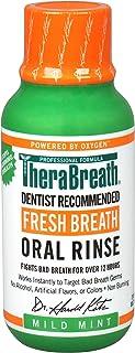 TheraBreath, Fresh Breath Oral Rinse, Mild Mint Flavor, 3 fl oz (88.7 ml)