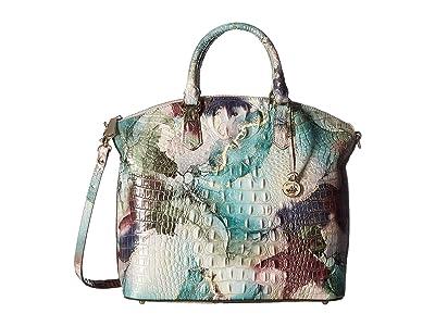 Brahmin Melbourne Large Duxbury Satchel (Nirvana) Satchel Handbags