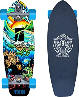 TXIN - Surfskate with Glutier T12 Trucks surfskate Turtle...