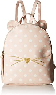 T-Shirt & Jeans Womens Polka Dot Cat Backpack with Ears