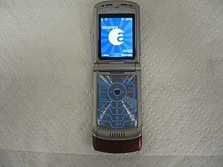 Alltel Motorola RAZR V3a V3 No Contract Red CDMA Camera Flip Cell Phone