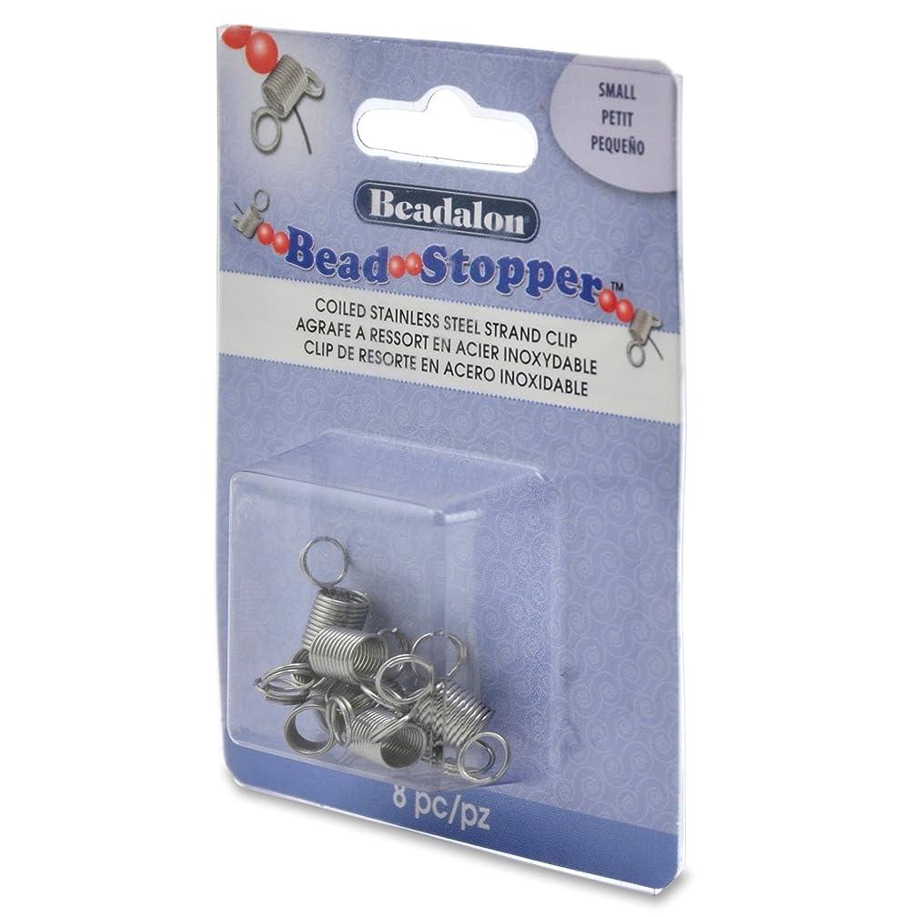 Beadalon 8-Piece Bead Stopper, Small
